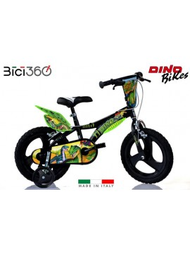 "Bicicletta Dinosaurs 16"" bambino"