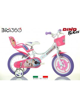 "Bicicletta Miracle Tunes 14"" bambina"