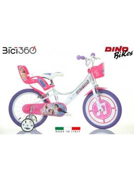 "Bicicletta Miracle Tunes 16"" bambina"