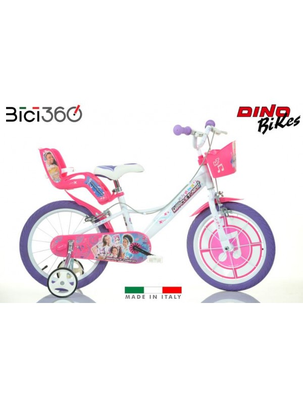 Bicicletta Miracle Tunes 16 Bambina