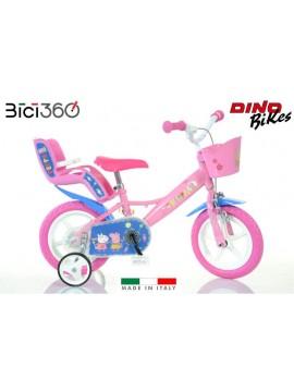 "Bicicletta PEPPA PIG bambina 12"""