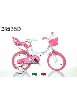 "Bicicletta Hello Kitty 16"" bambina"