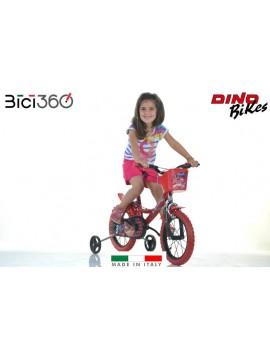 "Bicicletta Miraculous 14"" bambina"