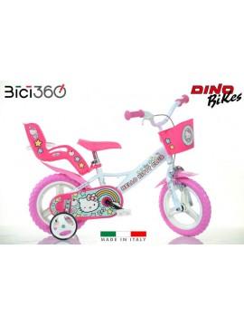 """Bicicletta Hello Kitty 12"""" bambina"""