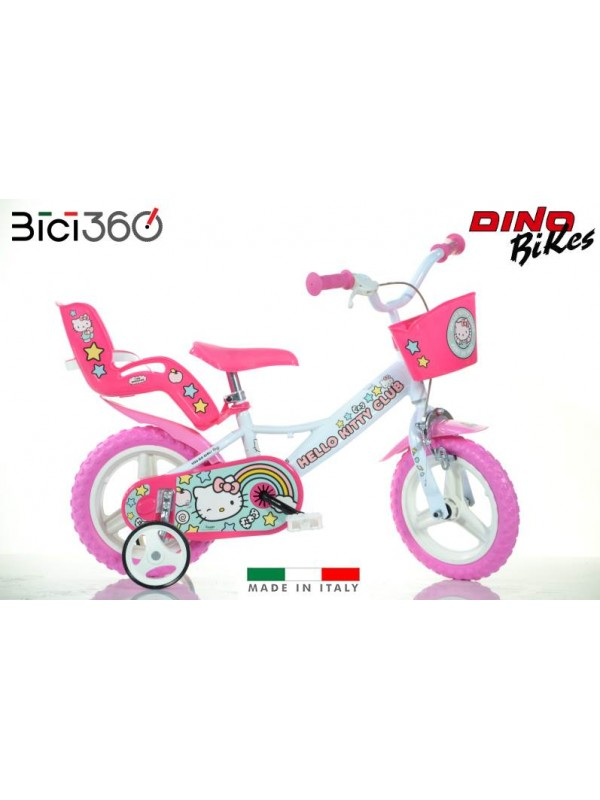 "Bicicletta Hello Kitty 12"" bambina"