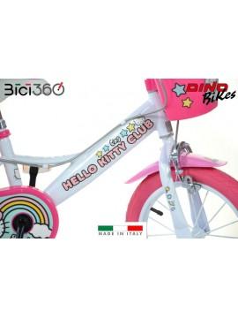 """Bicicletta Hello Kitty 14"""" bambina - NUOVA GRAFICA 2019/2020"""