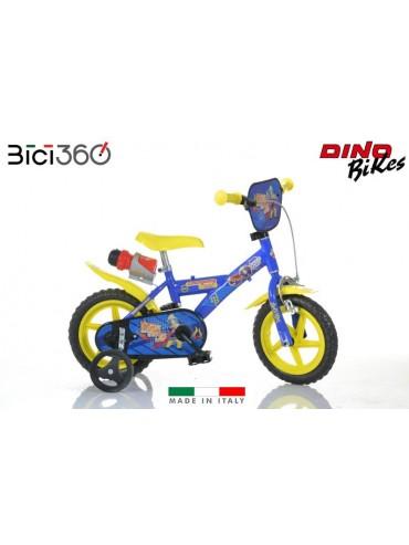 """Bicicletta Sam il pompiere 12"""" bambino"""