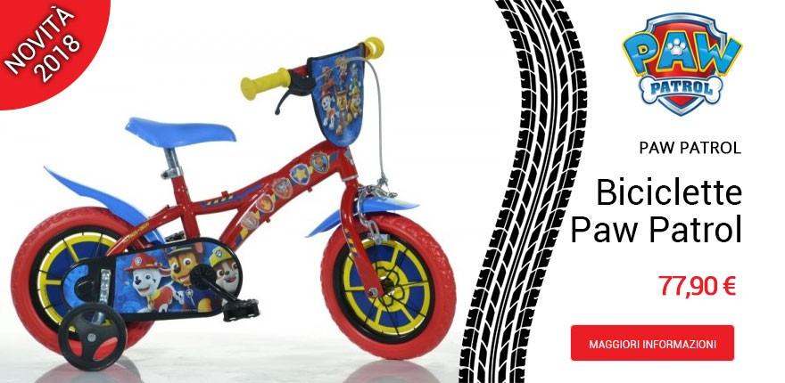 Biciclette Paw Patrol