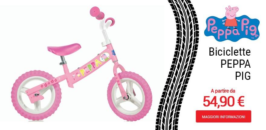 Biciclette Peppa Pig