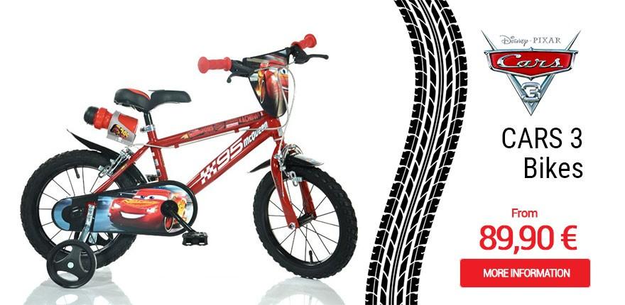 Biciclette Cars 3