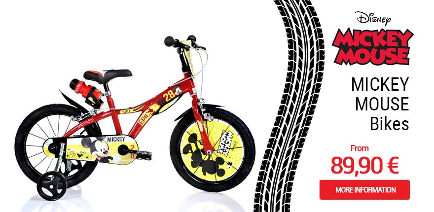 Biciclette Mickey Mouse