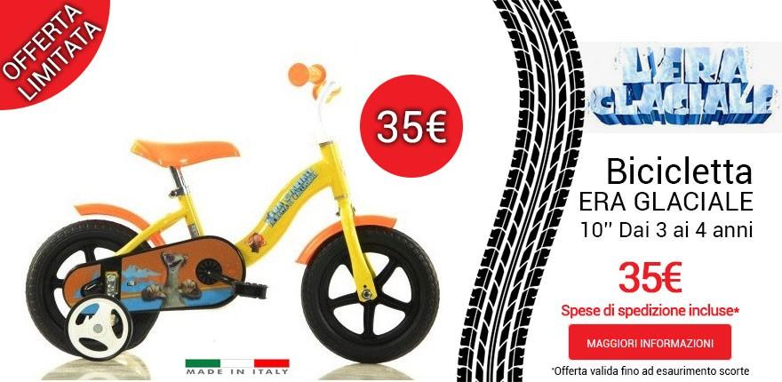 Bicicletta Era Glaciale a 35€